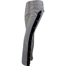 Moschino Jeans white trousers