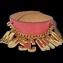 Moschino Pink Belt NWOT