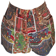 "Moschino junior ""Lotteria Italiana"" Shorts"