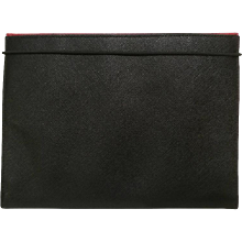 Prada Black Leather Memo book