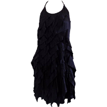 Prada black dress still with tags