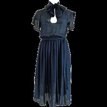 Salvatore Ferragamo Blu Dress