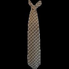 Trussardi multicolour Vintage Silk Tie