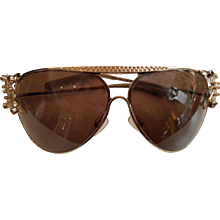 Valentino Sunglasses with Butterfly