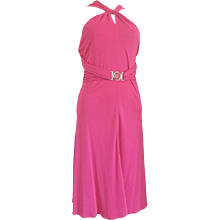 Versace Collection Pink Dress