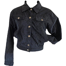 Versace Jeans Couture Grey python print Jacket