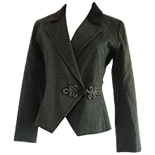 Yves Saint Laurent Variation Green Jacket
