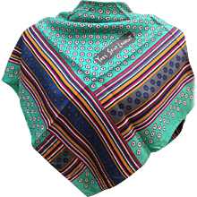 Yves Saint Laurent multicolour Scarf