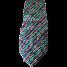 Yves Saint Laurent multitone Tie