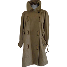 Yves Saint Laurent Rive Gauche Beije Trench Coat