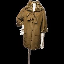 1980s Christian Lacroix Luxe Dust Coat Jacket
