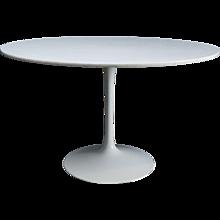 """Large Circular """"Eero Saarinen"""" Style Dining Table"""