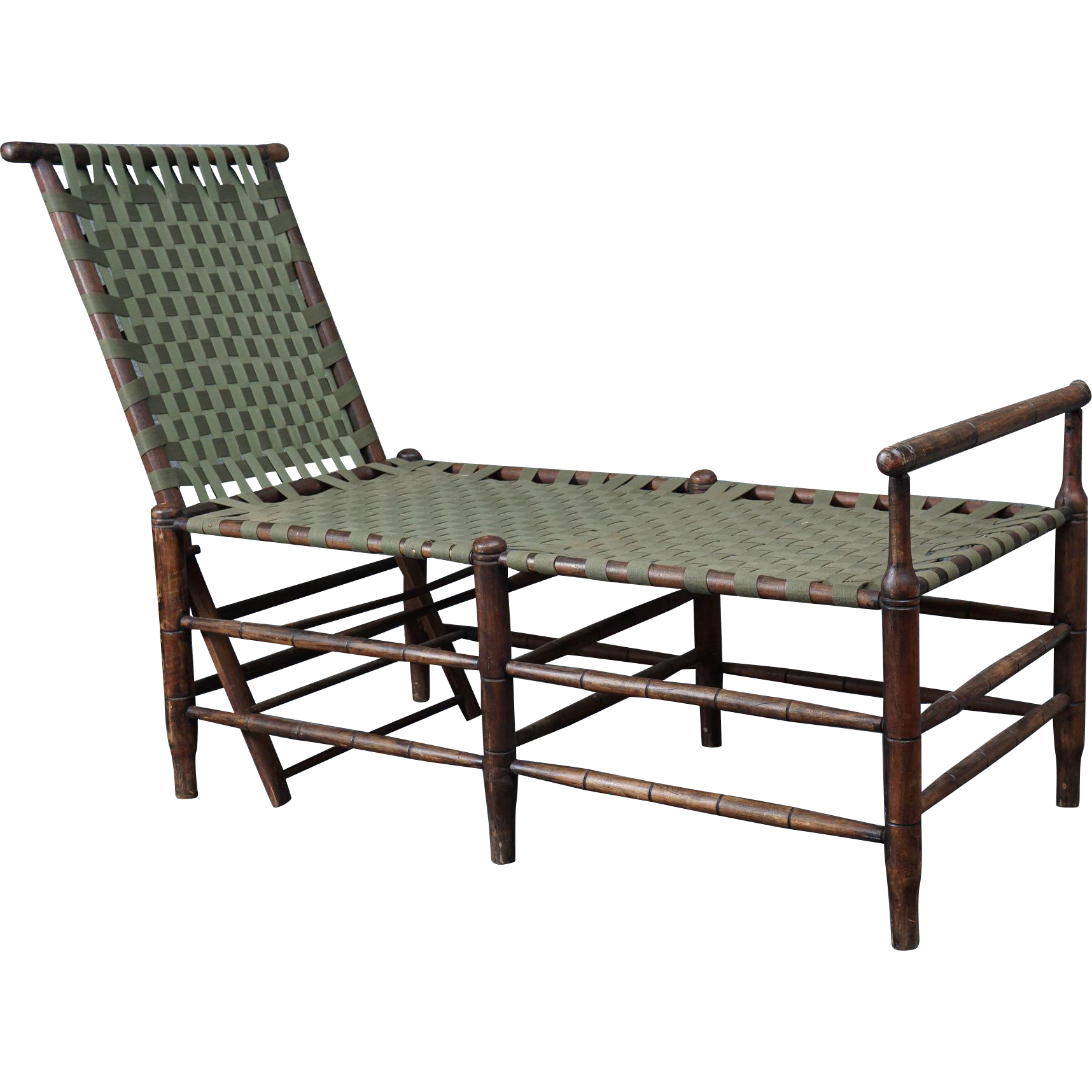 Adirondack adjustable chaise benjamin wilson antiques for Chaise adirondak