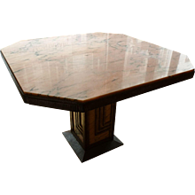 French work - Dining-room table, 1925