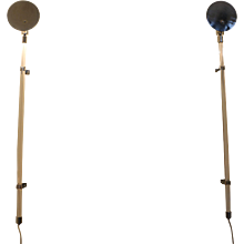 Peter Hamburger for Knoll — Pair of Sconces, 1970s