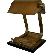 Art Déco Prototype Lamp from Ecole Boulle, France, 1930s