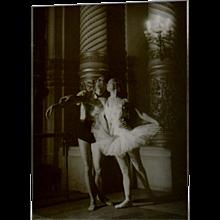 George Brassaï — Photograph of Serge Lifar, 1935