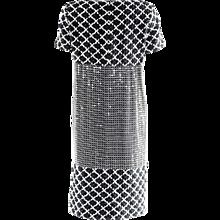 Chanel Black & White Dress