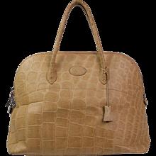 Donna Elissa Milano Crocodile bag