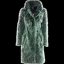 Italian Artisanal Astrakan Fur Coat