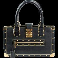 2003 Louis Vuitton Black Suhali Le Fabuleux Bag