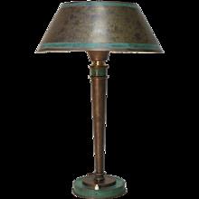 Elegant Art Deco Lamp by Genêt et Michon - France, Circa 1930s