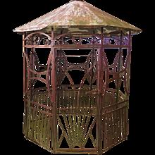 Art Deco Wrought Iron Pergola - France 1920s