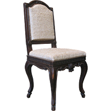 French Louis XV Carved Side Chair - France, 18th Century
