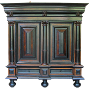 18th Century Dutch Kussenkast