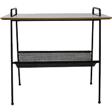 Special Side Presentation Table with Magazine Layer by Cees Braakman for Pastoe Holland
