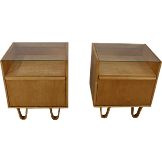 Two nightstands by Cees Braakman for UMS Pastoe