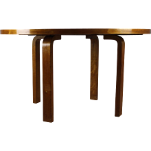 Karelian Birch Large Dining Table by Alvar Aalto