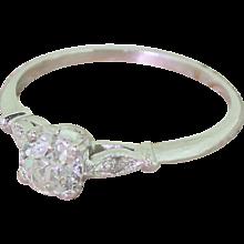 Edwardian 0.51 Carat Old European Cut Diamond Engagement Ring, circa 1910