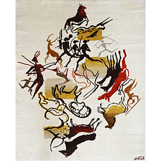 Olga Fisch ,Carpet from the Caverna's serie, circa 1950