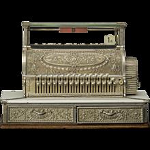 """Cash register, """"National"""", circa 1900"""