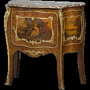 Decorative French console cabinet, circa 1900