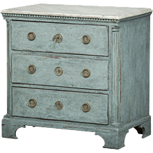 Louis XVI chest of drawers, circa 1780
