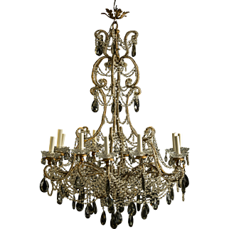 Decorative Belle Epoque Chandelier