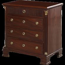 Louis XVI chest of drawers, Denmark 1790
