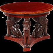 Center table, Denmark 1900-1920