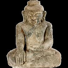 16th Century sandstone Buddha