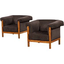 Art Deco armchairs, Sweden 1920