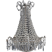 Crystal chandelier, Spain 1820