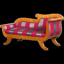 Karl Johan chaise longue, Sweden 1830