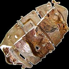 Fausto Maria Franchi Silver Bracelet c1970