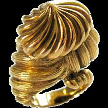 Hammerman Bros.  18k Gold Cocktail Ring