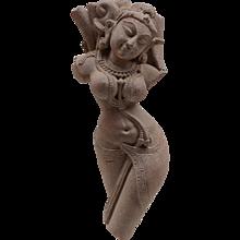 Indian Sandstone Figure of a Deity