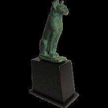 Egyptian Bronze Cat