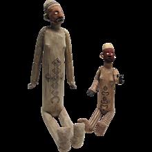 Pair of Bembe Figures