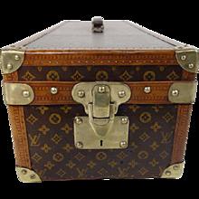 1920s Encyclopedia Britannica Louis Vuitton Trunk